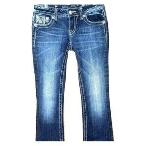 Miss Me Dark Washed Denim Jeans- Sz. 26